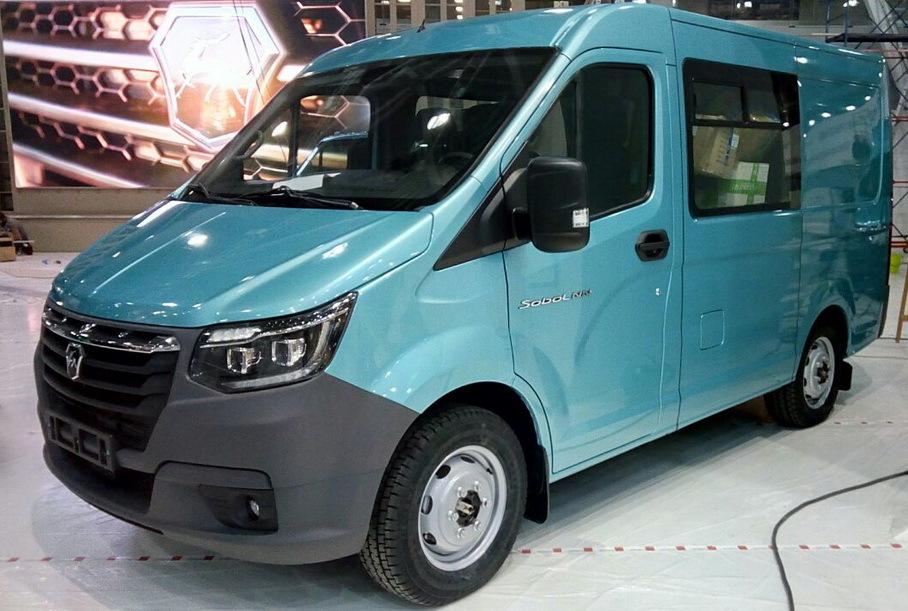 Серийную версию нового ГАЗ «Соболь» показали до премьеры