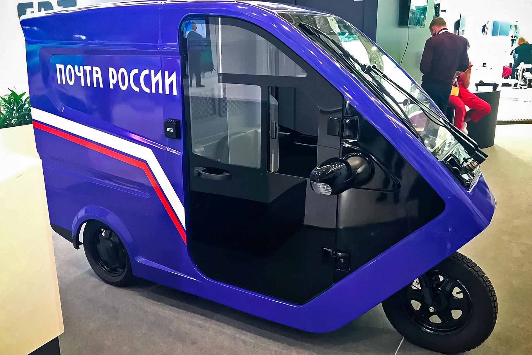 Посмотрите на российский электромобиль стоимостью 600 000 рублей