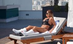 Дабл бинго: британская трэш-реалити-дива Кэти Прайс сломала на отдыхе в Турции разом обе ноги