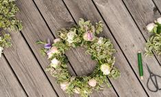 Благоухающая цветочная композиция: делаем украшение для дома своими руками
