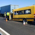 Водитель и 7 пассажиров погибли в ДТП с микроавтобусом в Крыму