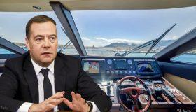 Итоги дня: ненужная яхта Медведева, лихой БТР Золотова и выгодный обмен Жириновского