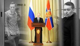 Итоги дня: губернатора-миллиардера посадили за взятку, Путин напутствовал чекистов, Навального лишили статуса узника совести