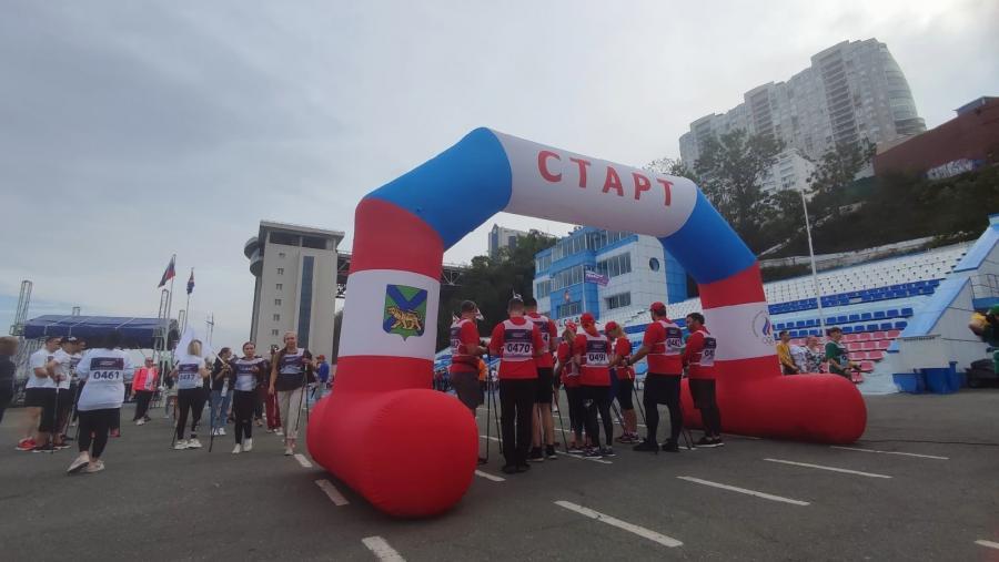Во Владивостоке стартовала акция «10 000 шагов к жизни», приуроченная к Всемирному дню сердца