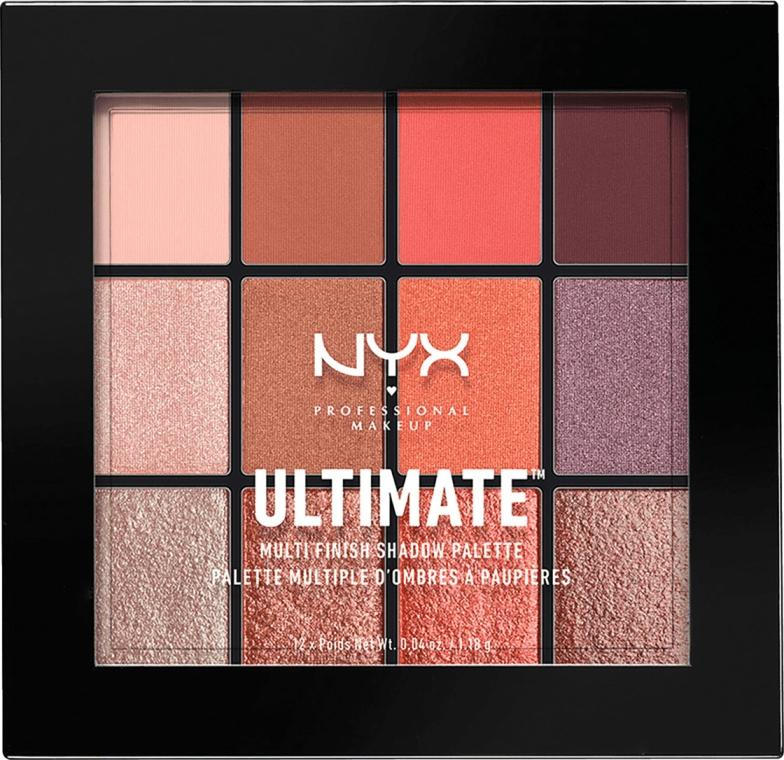 Палетка теней NYX Professional Makeup