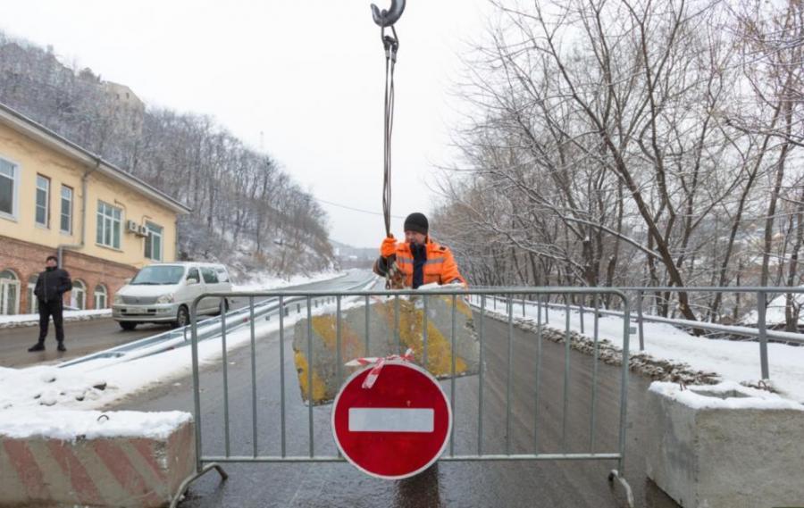 Во Владивостоке открыто движение по улице Капитана Шефнера
