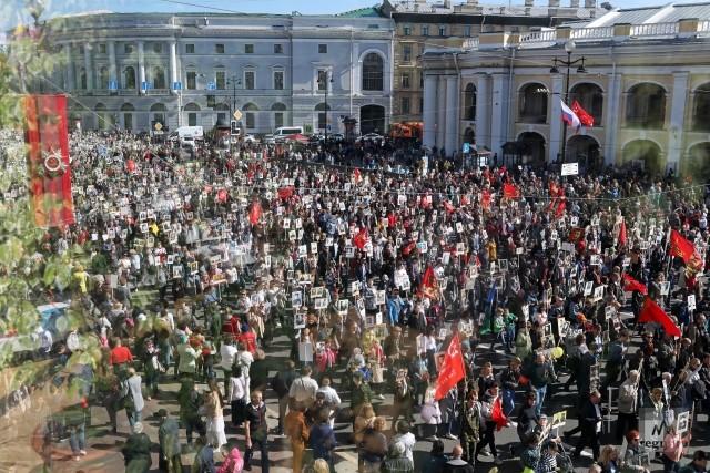 В Петербурге предложили дистанционный формат «Бессмертного полка»