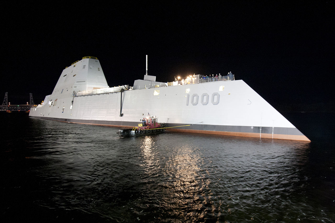Эсминцы ВМС США Zumwalt оснастят МБР для глобального удара