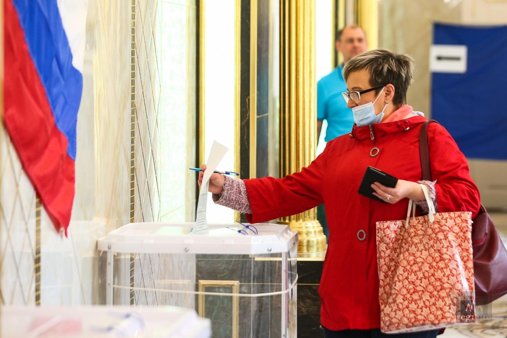 Как голосовали по поправкам к Конституции в Екатеринбурге: фоторепортаж