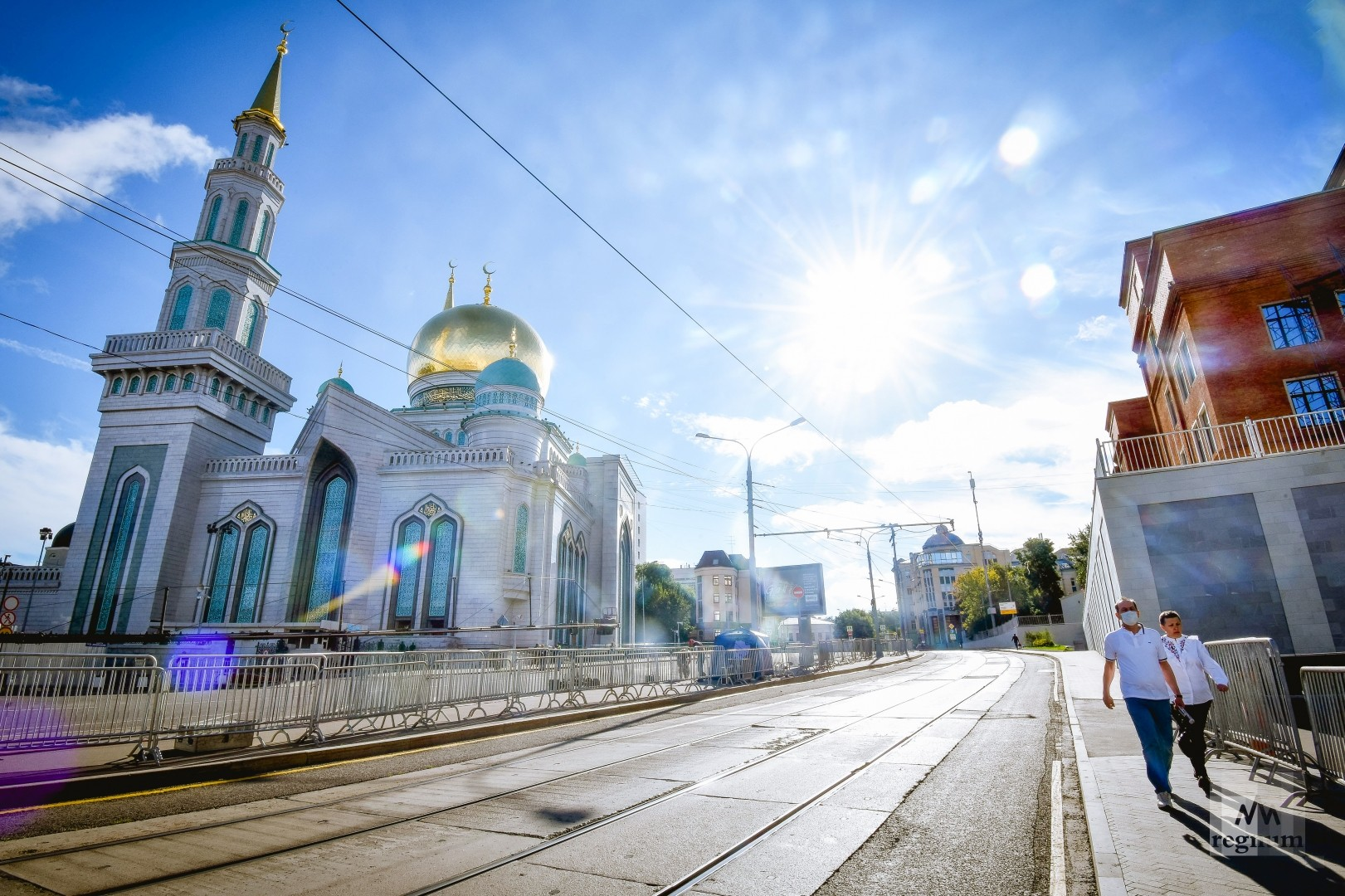 Самоизоляция: на праздник Курбан-байрам в Москве никто не пришёл — фото