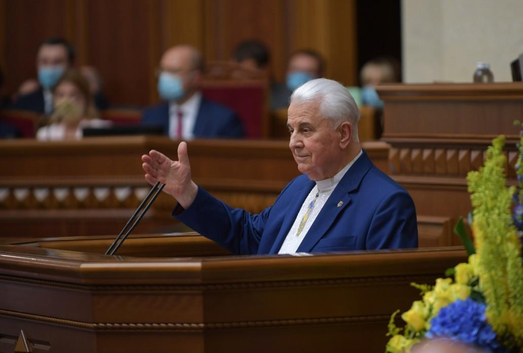 Кравчук заявил, что не подпишет документ, который «навредит» Украине