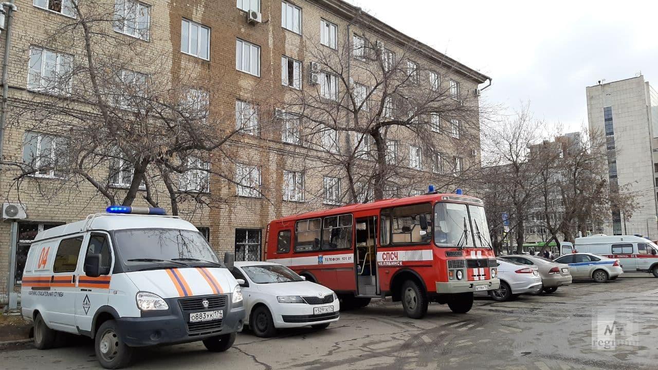 По уточнённым данным взрыв прогремел в ГКБ №2 в Челябинске