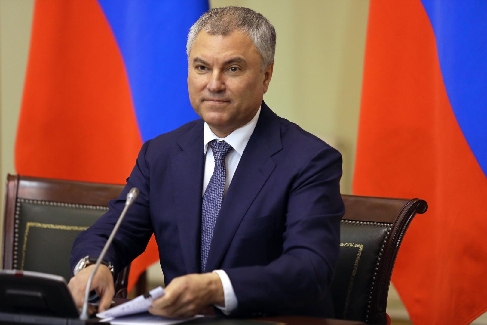 Володин рассказал об обновлении состава Госдумы