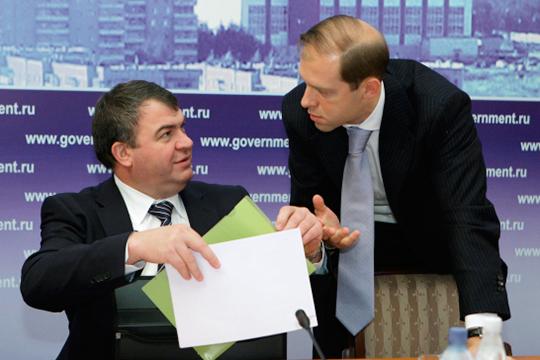 Колесов и Сердюков нацелились на интеллект «Вертолетов России»