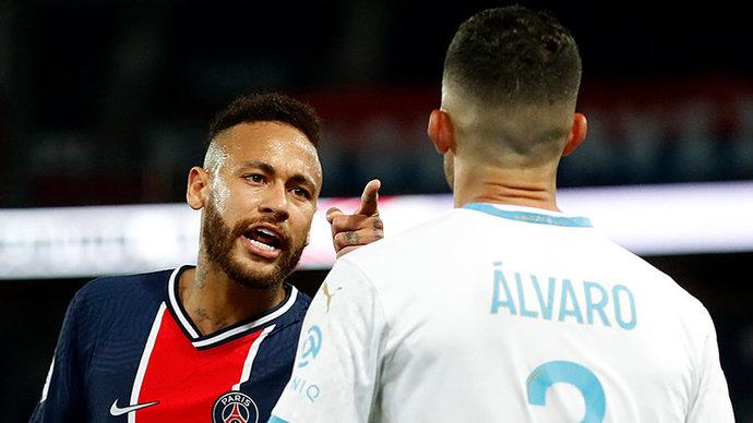 Неймара обвиняют в гомофобных высказываниях в адрес игрока «Марселя», которого он назвал расистом