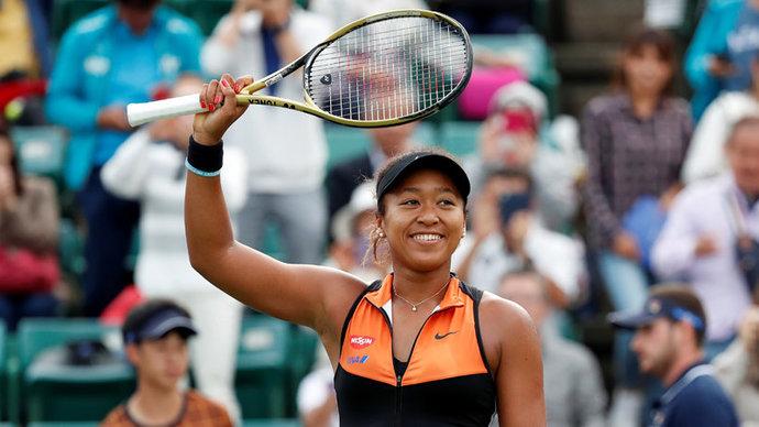 Осака заработала за год рекордные для женского спорта 37,4 миллиона долларов