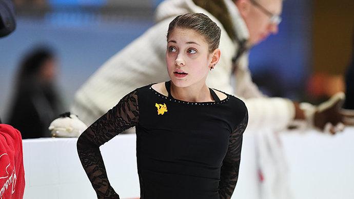 Алена Косторная — о переходе к Плющенко: «Не хочу давать комментарии. В принципе»