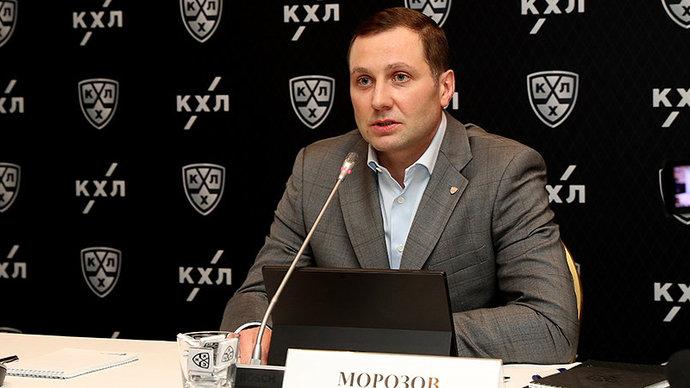 Алексей Морозов: «КХЛ не обсуждает изменение лимита на легионеров»