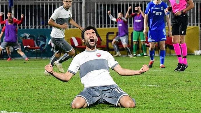 «Динамо» проиграло «Локомотиву» из Тбилиси в квалификации Лиги Европы
