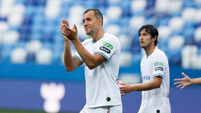 Дзюба признан лучшим игроком Тинькофф РПЛ сезона-2019/20
