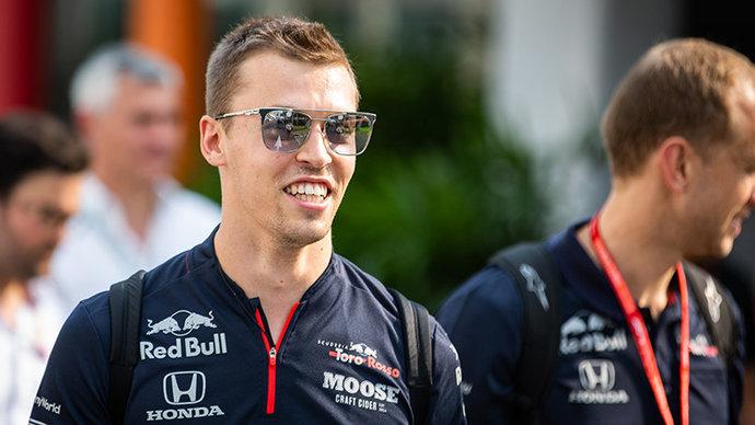 Даниил Квят – о Гран-при Австрии: «Будет странно видеть пустые трибуны»