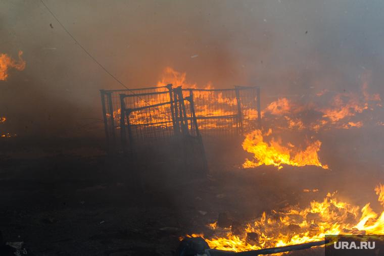 Появилось видео пожара в ангарской колонии, в которой бунтовали осужденные