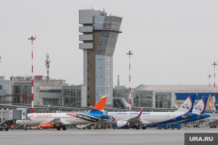 В Екатеринбурге неизвестный «заминировал» самолеты в аэропорту