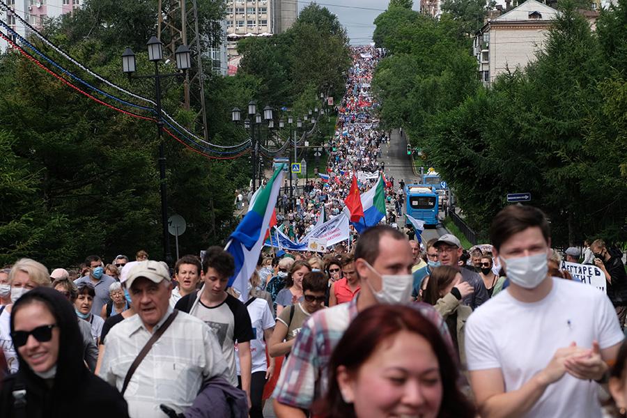 Протесты в россии сейчас