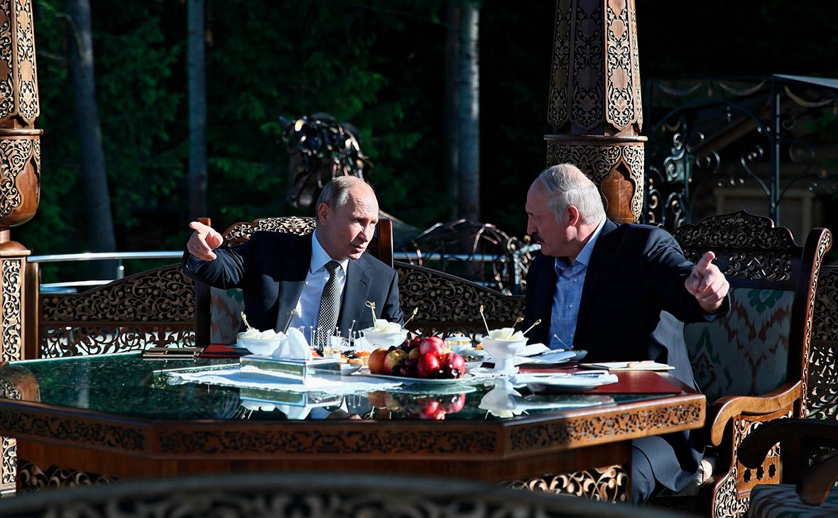 Лукашенко договорился с Путиным «оставить» Белоруссии $1 млрд