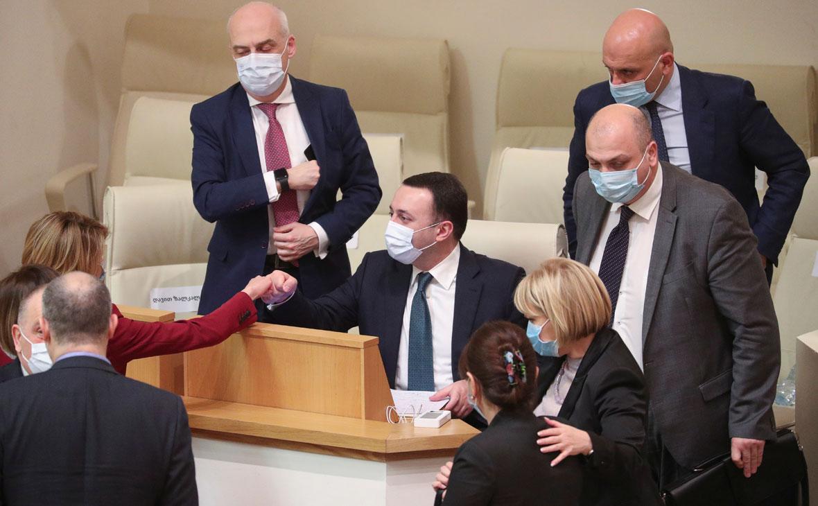 Парламент Грузии утвердил новое правительство во главе с Гарибашвили