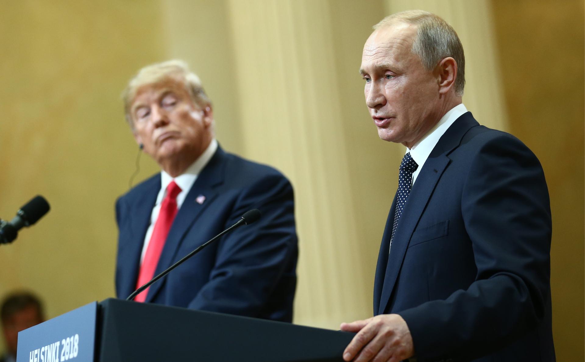 Путин обогнал Трампа по уровню доверия в мире