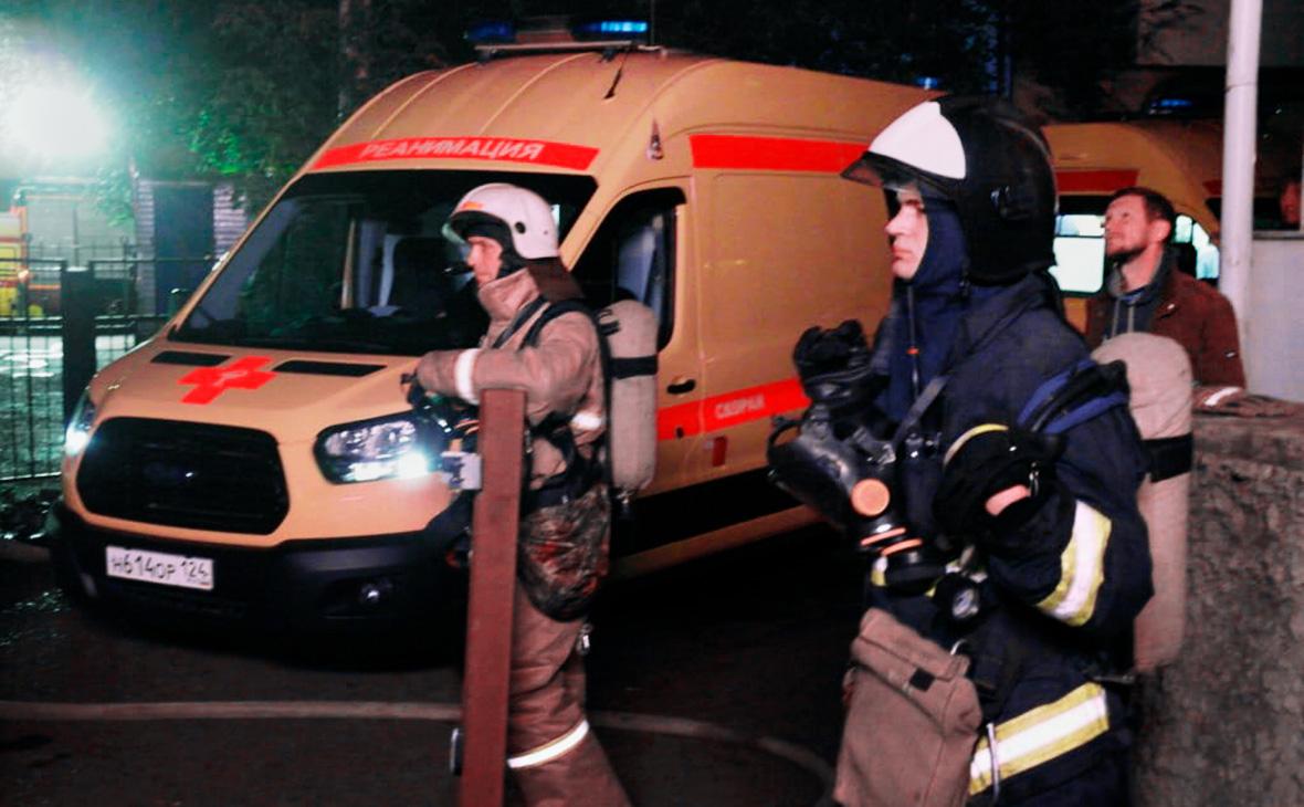 СК назвал поджог причиной пожара в наркологической больнице в Красноярске