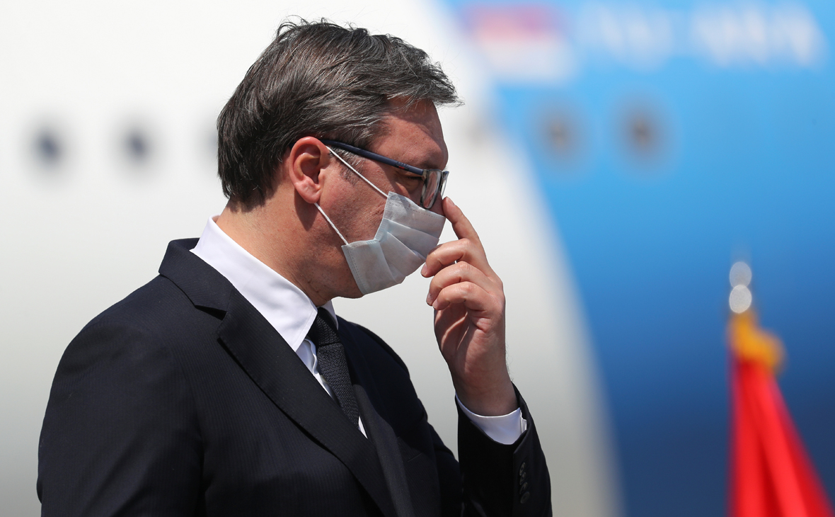 Вучич допустил производство российской вакцины «Спутник V» в Сербии