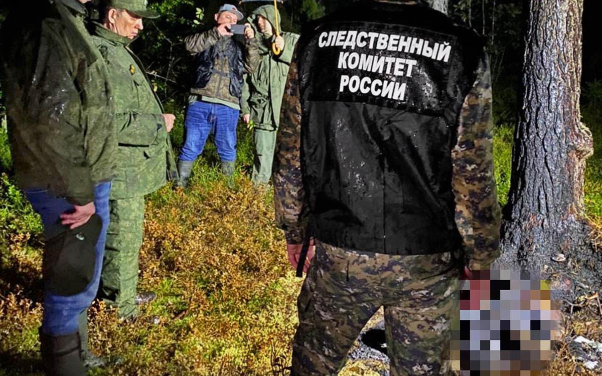 В Ленинградской области нашли обгоревшие тела женщины и ребенка
