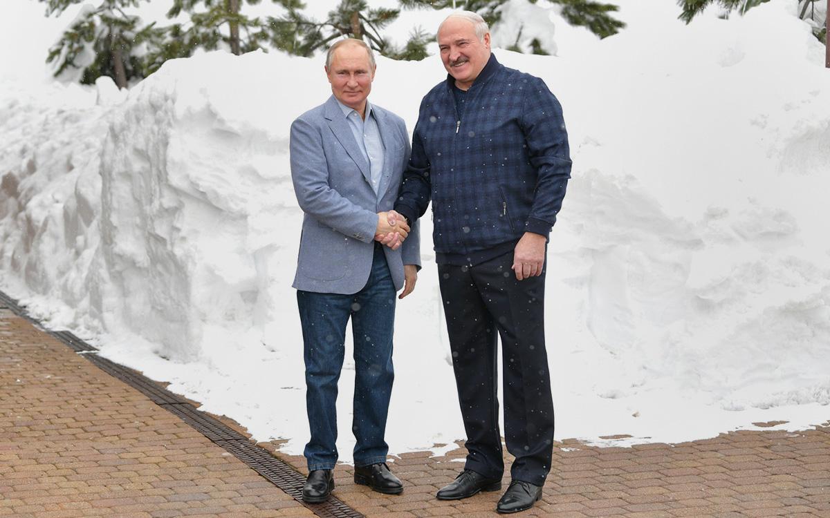 Лукашенко на следующий день после визита в Россию позвонил Путину