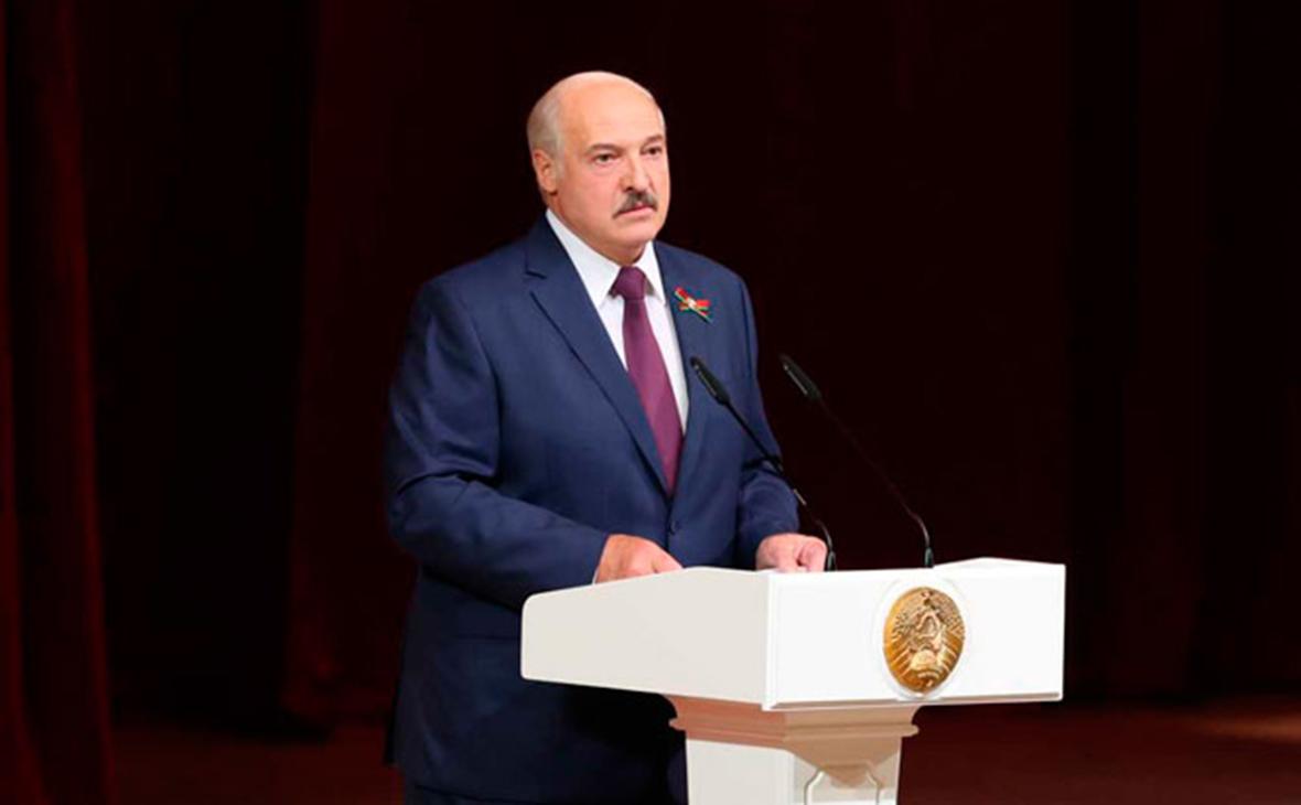В Белоруссии назвали дату обращения Лукашенко к народу и парламенту