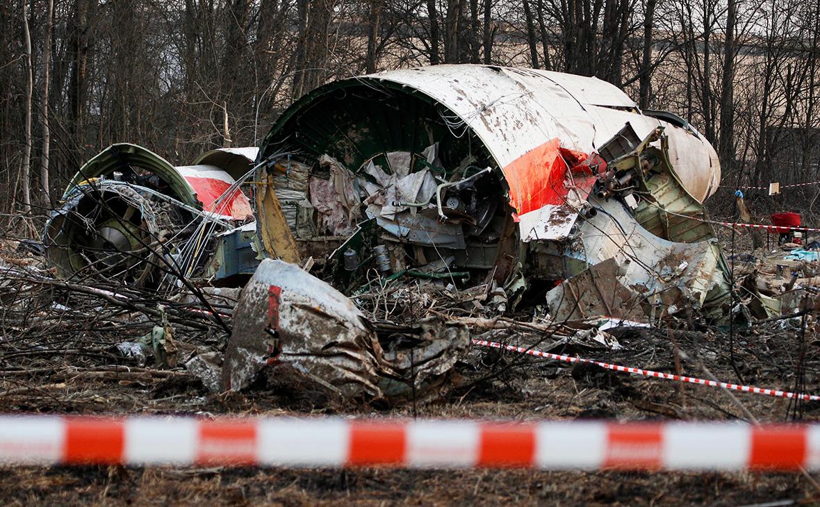 В Польше заявили о связи крушения самолета Качиньского с ремонтом борта