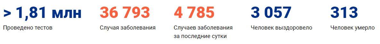Коронавирус в Нижнем Новгороде статистика на 18 апреля