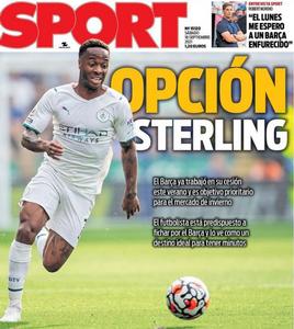 «Барселона» хочет подписать Стерлинга зимой. Игрок заинтересован в переходе