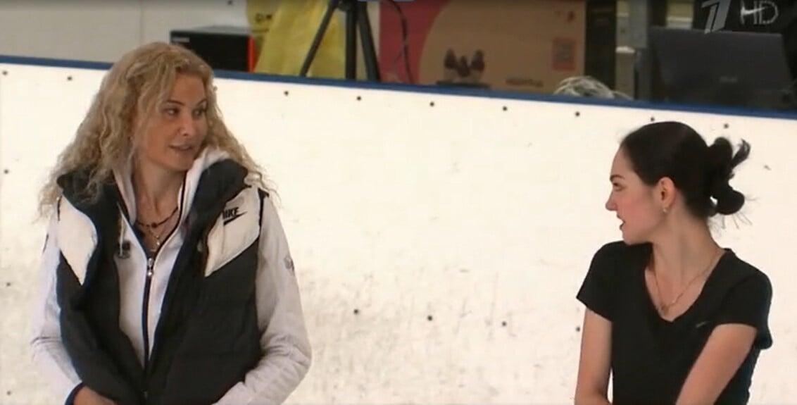 Медведева провела первую тренировку в группе Тутберидзе. Ей сохранили обе программы