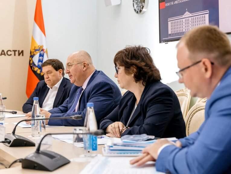 В администрации Курской области подвели промежуточные итоги реализации СЭП