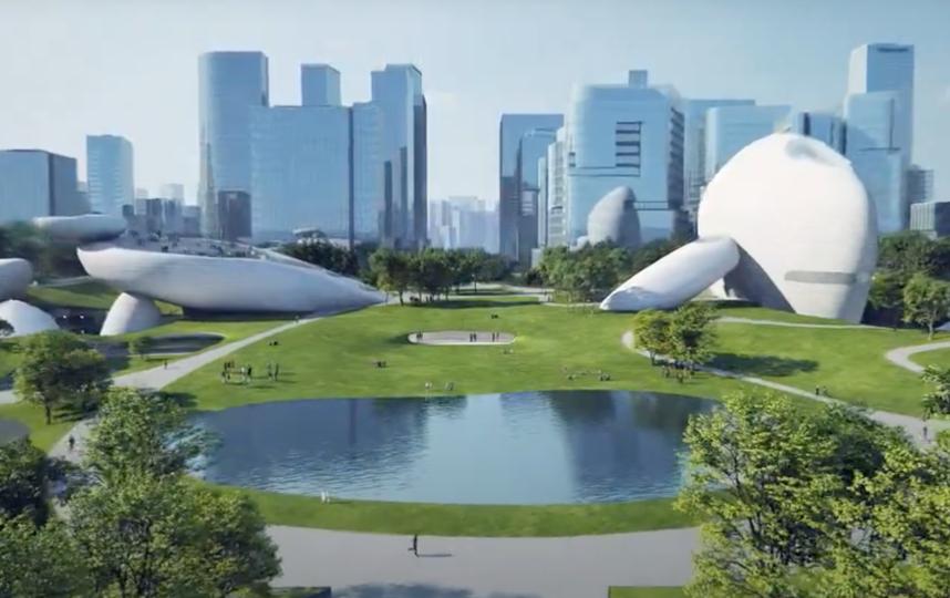 Новый культурный центр Шэньчжэня оформят в футуристическом стиле