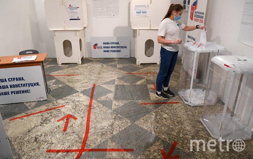 Более 65% москвичей проголосовали за поправки в Конституцию