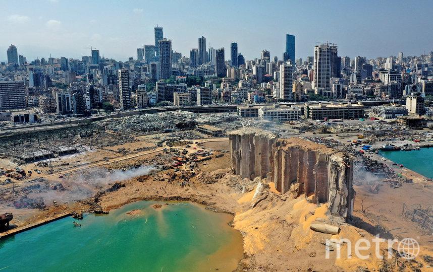 Как выглядит Бейрут после взрыва: фото