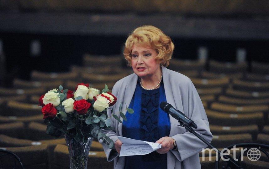 Сергей Собянин поздравил с днём рождения народную артистку СССР Татьяну Доронину