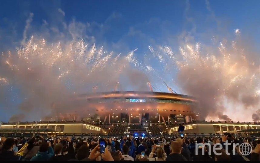 'Зенит' разгромил 'Локомотив' и досрочно выиграл чемпионат России