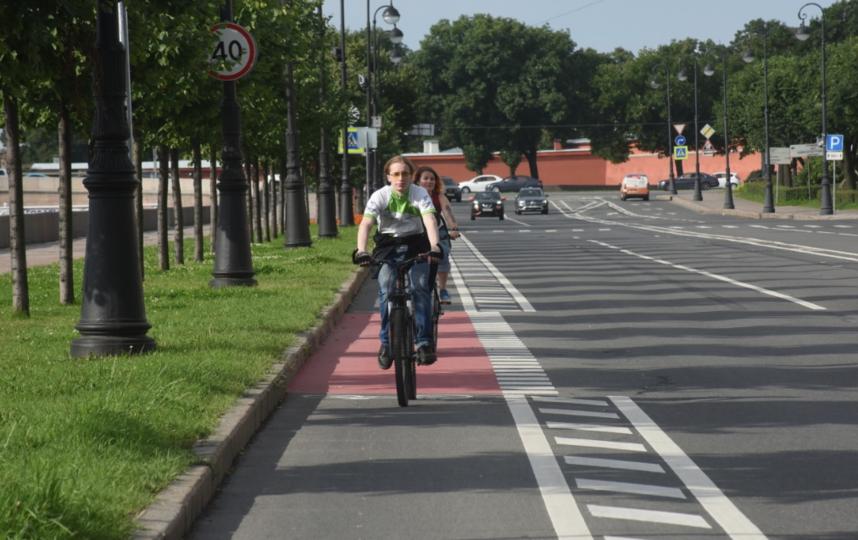 Где будут прокладывать велодорожки в Петербурге