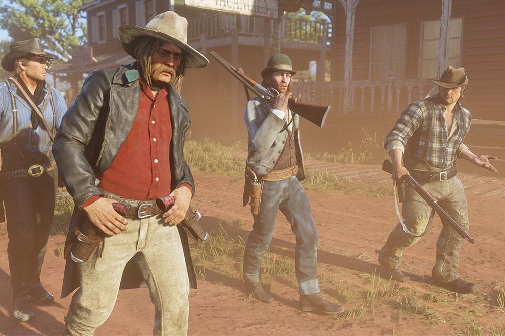 Британская компания начала проводить рабочие встречи в игре Red Dead Redemption 2