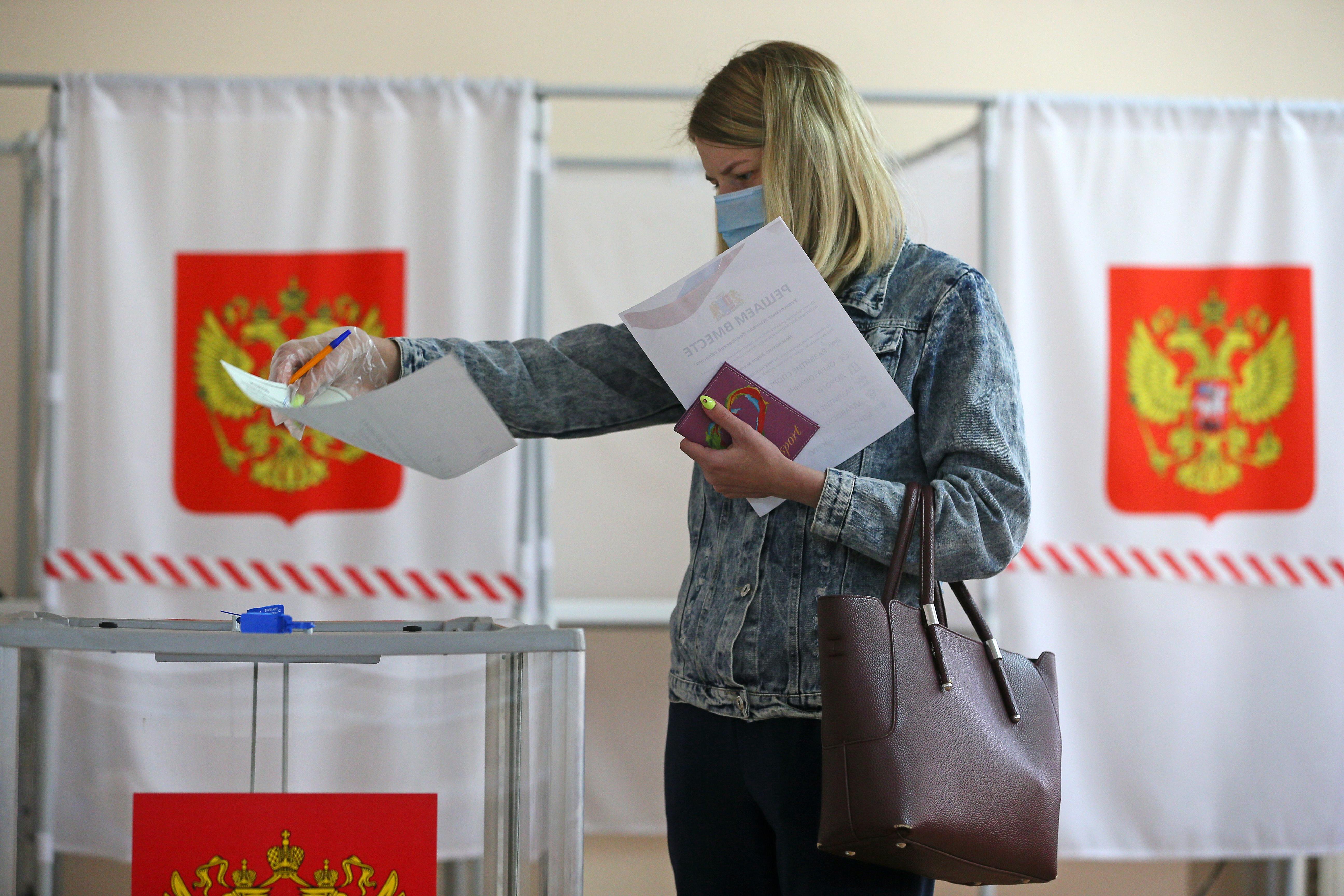 В Мосгоризбиркоме отреагировали на попытки проголосовать по поправкам дважды