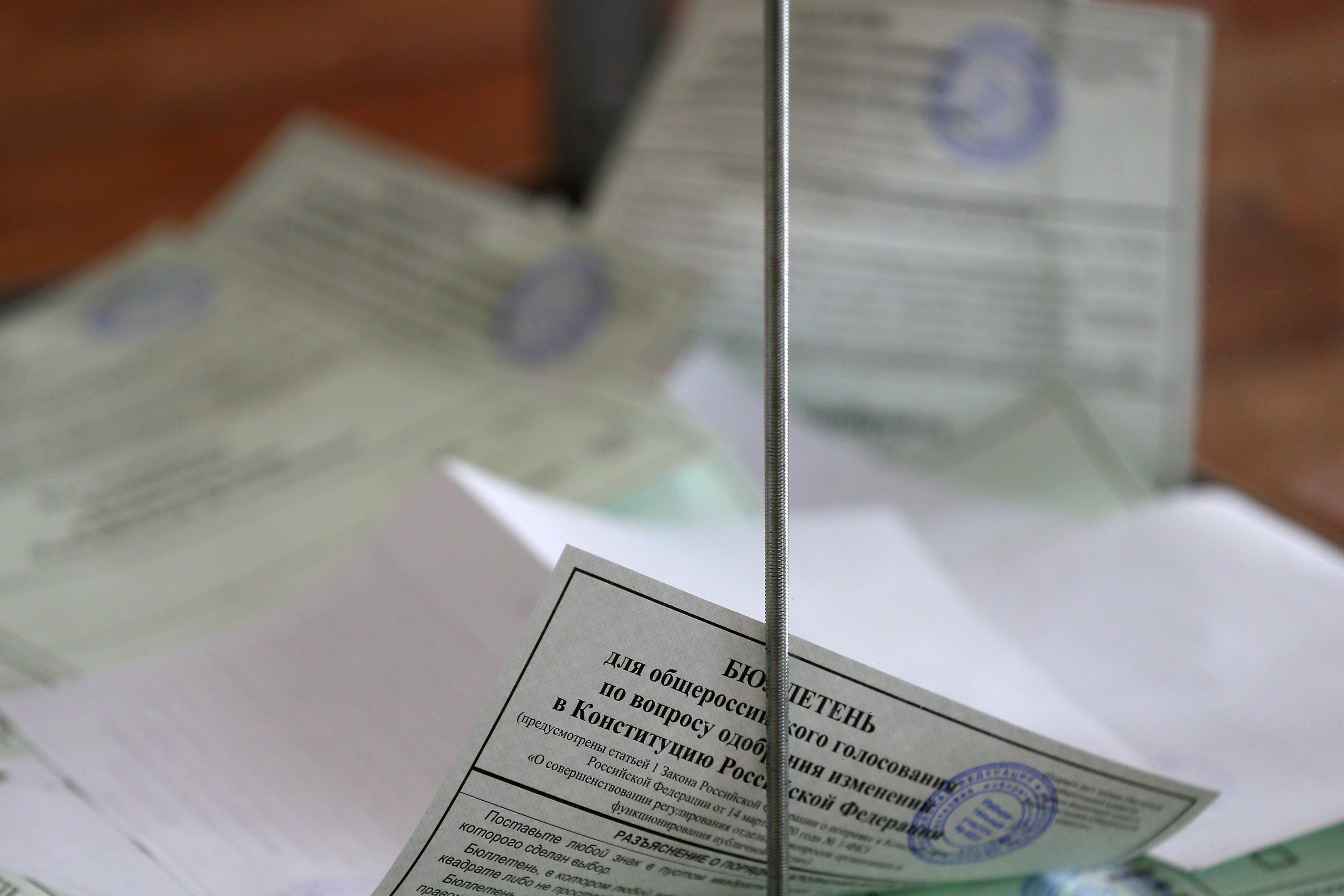Губернаторы большей части регионов СЗФО проголосовали по поправкам в конституцию